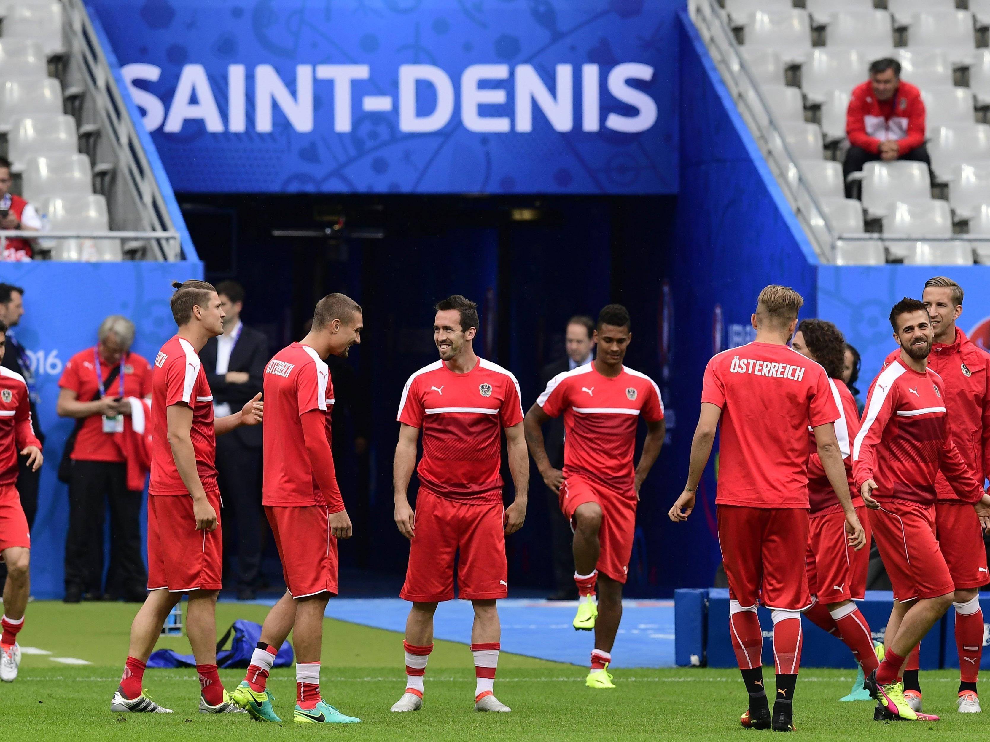So will das Österreichische Nationalteam ins Achtelfinale.