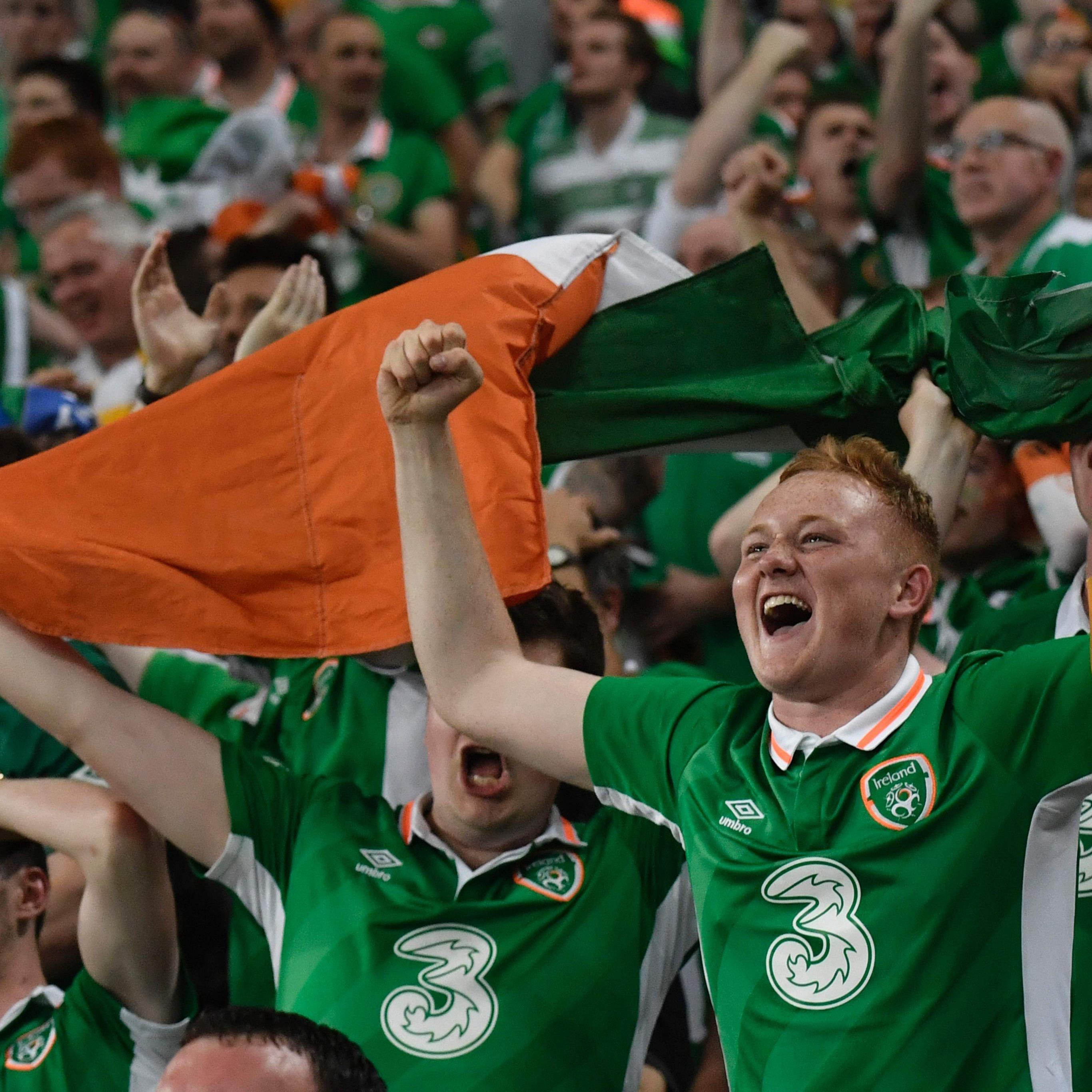 Ganz Irland jubelt über den Einzug ins Achtelfinale der Euro 2016.