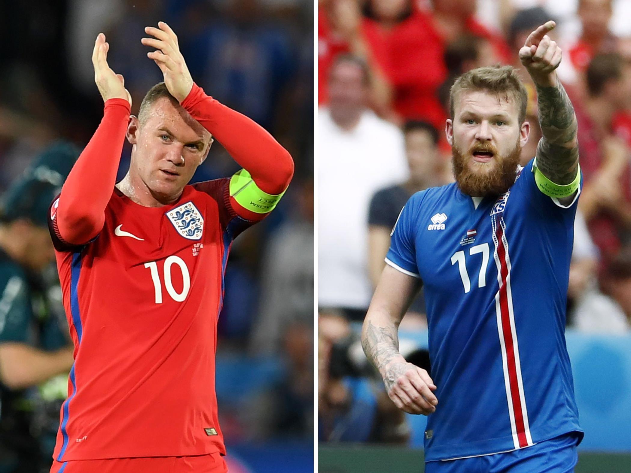 Das Achtelfinale zwischen England und Island LIVE auf VIENNA.at