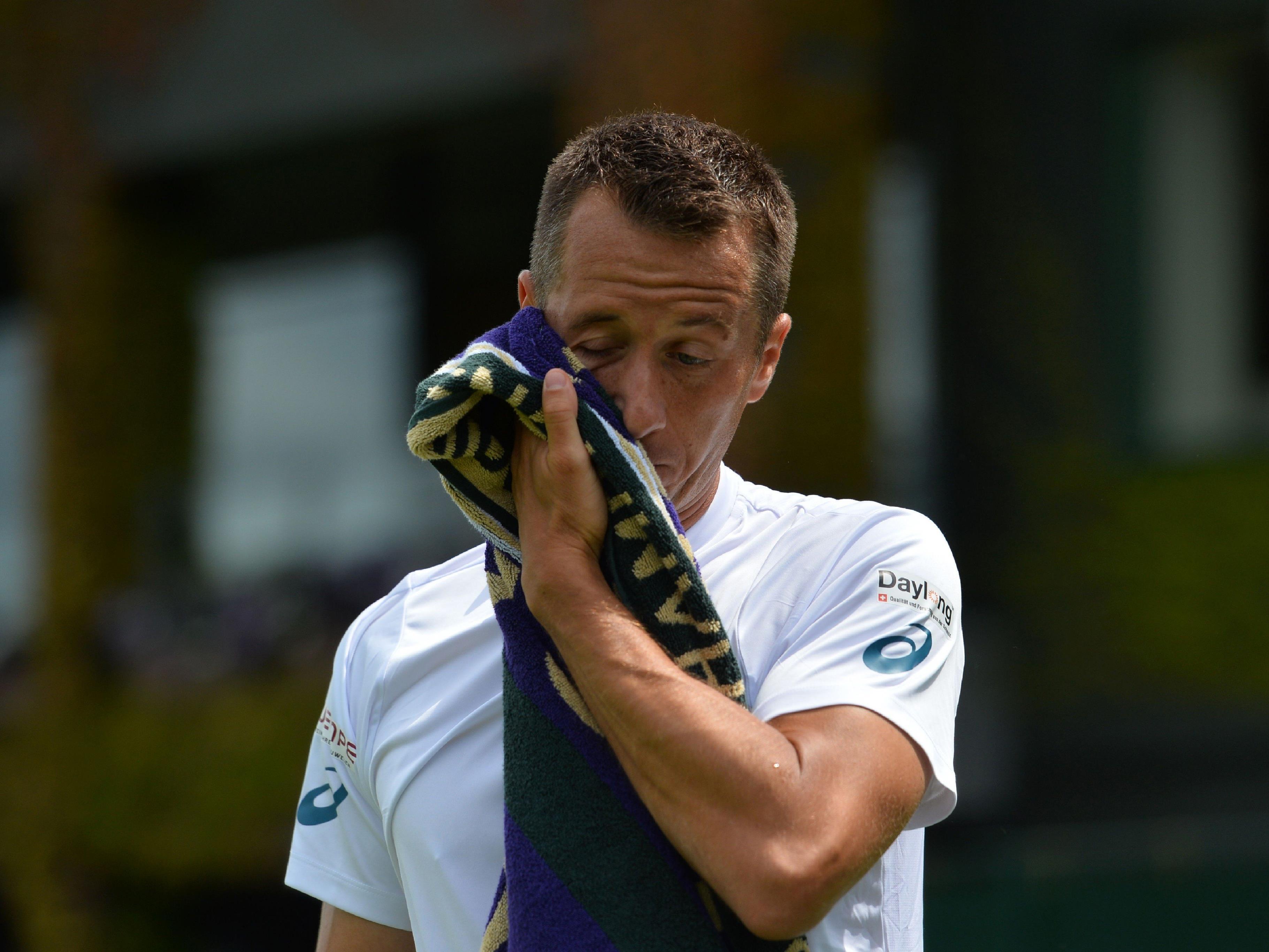 Der an Nummer 21 gesetzte Philipp Kohlschreiber verlor sein Erstrunden-Match in Wibledon gegen den Franzosen Pierre-Hugues Herbert.