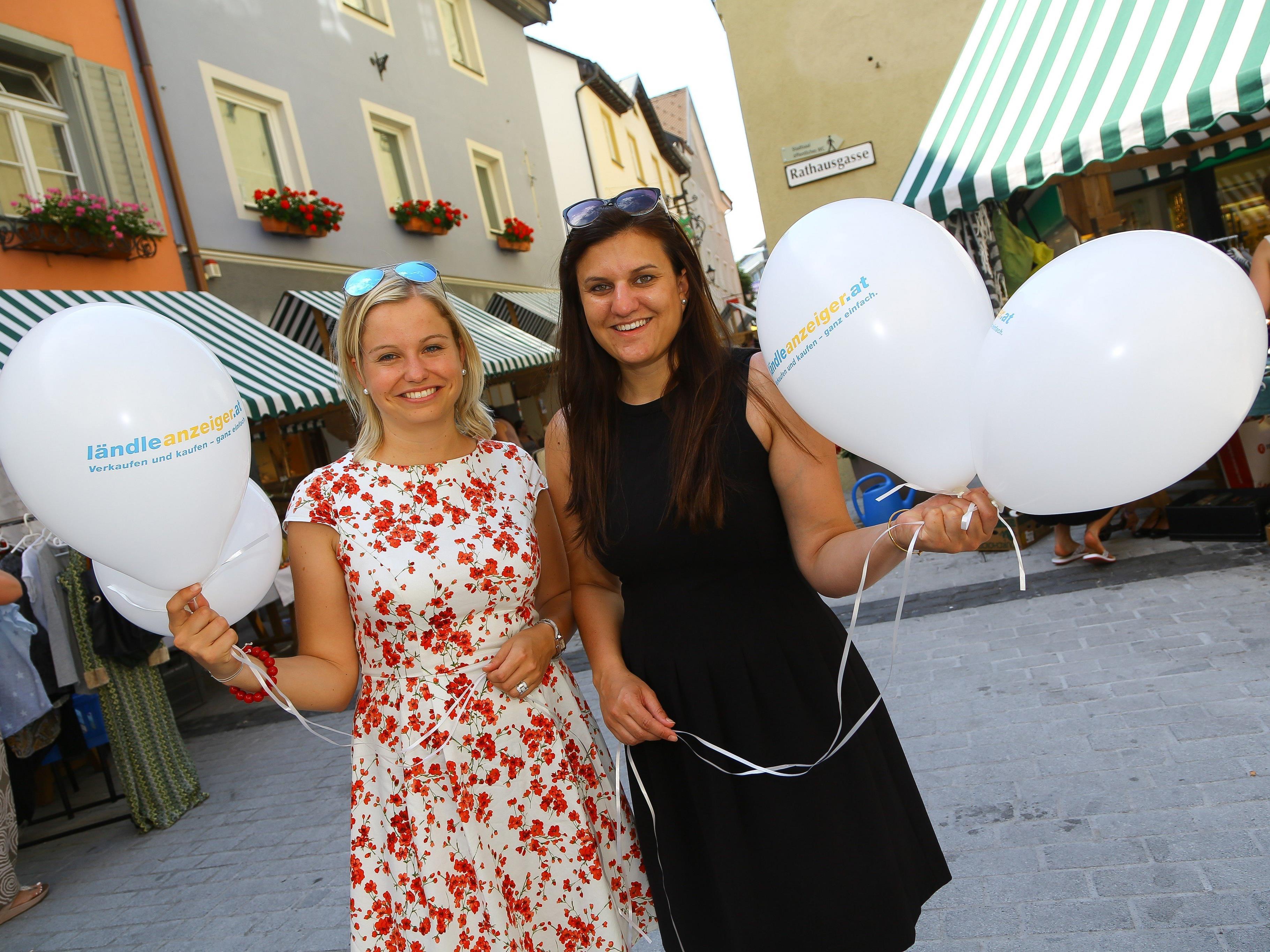 Die Organisatoren Katharina Stücker und Claudia Nessler freuten sich über den regen Zuspruch