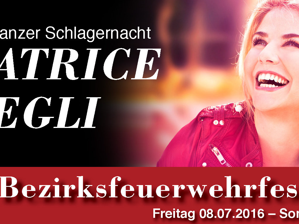 BEATRICE EGLI LIVE in Frastanz am 8. Juli 2016