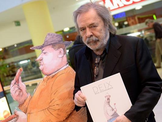 Der Karikaturist Manfred Deix ist 67-jährig verstorben
