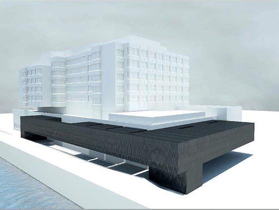 Der Umbau bei Normalbetrieb im Krankenhaus wird bis Mitte 2020 dauern.