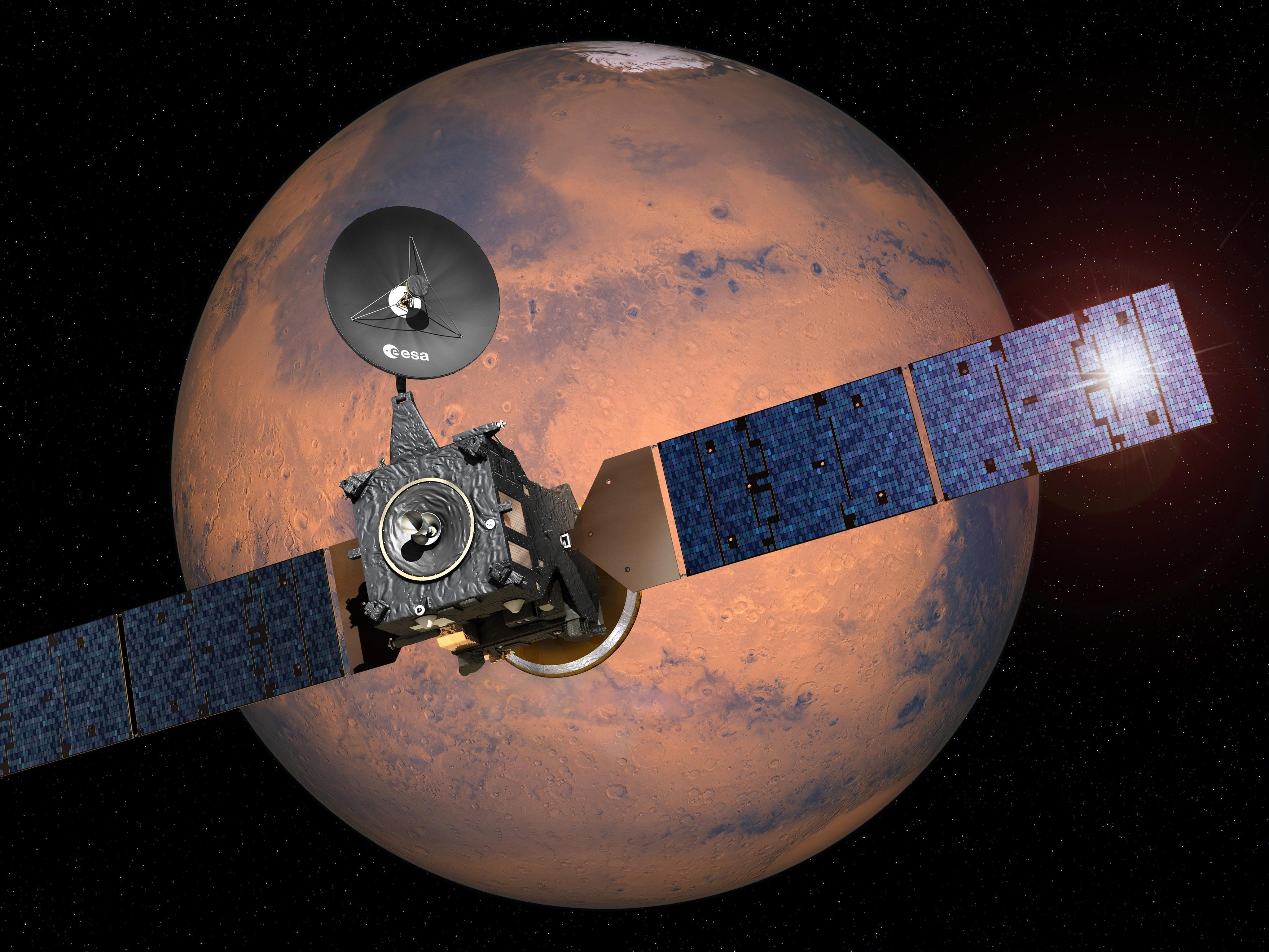 Der halbe Weg zum Mars wurde bereits zurückgelegt