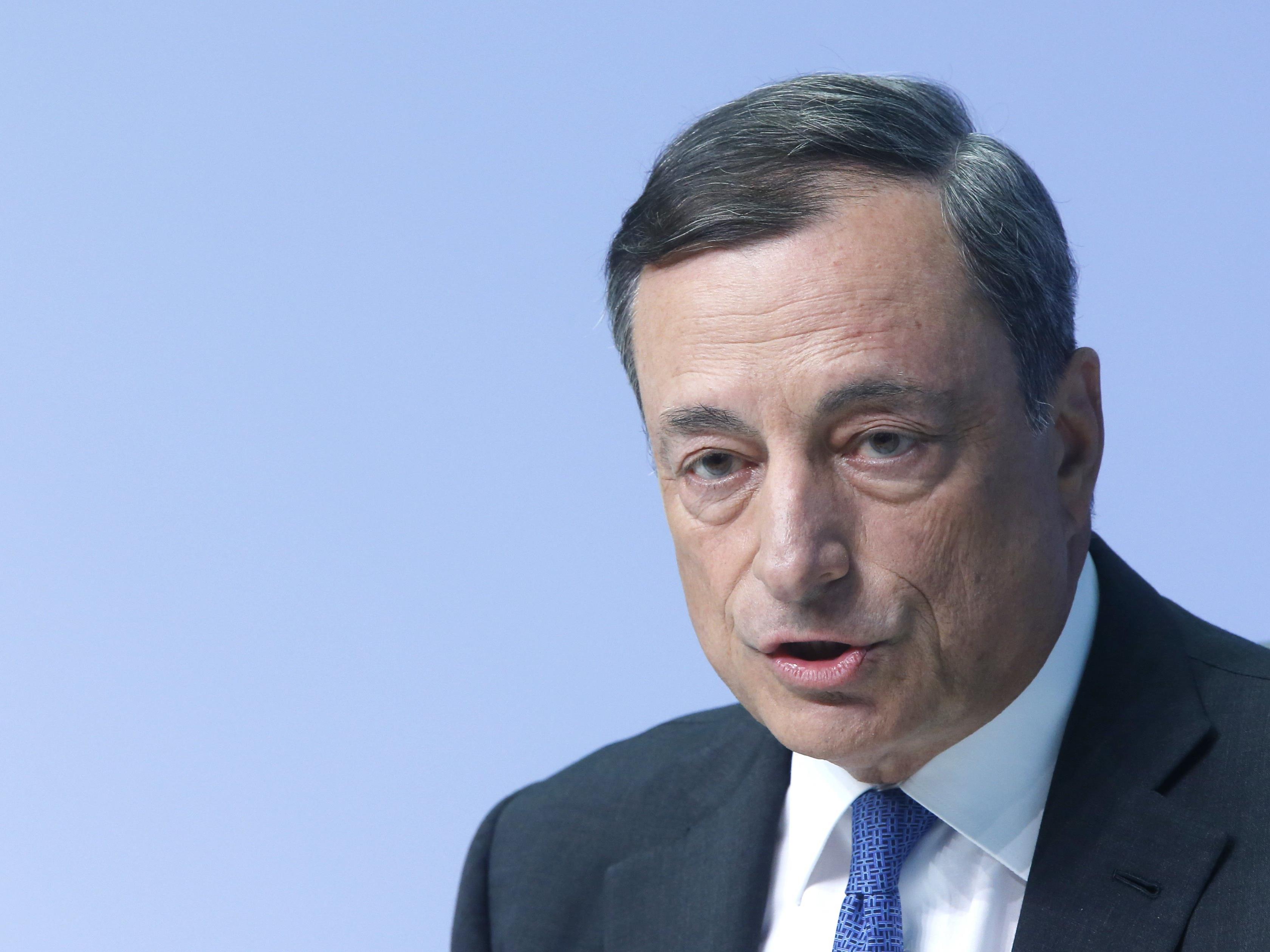 Die Ratsmitglieder der Europäischen Zentralbank kamen am Donnerstagvormittag zu ihrer geldpolitischen Sitzung in Wien zusammen.