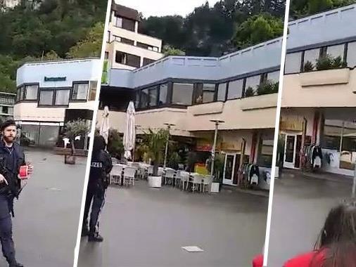 Bomdendrohung in Feldkirch.