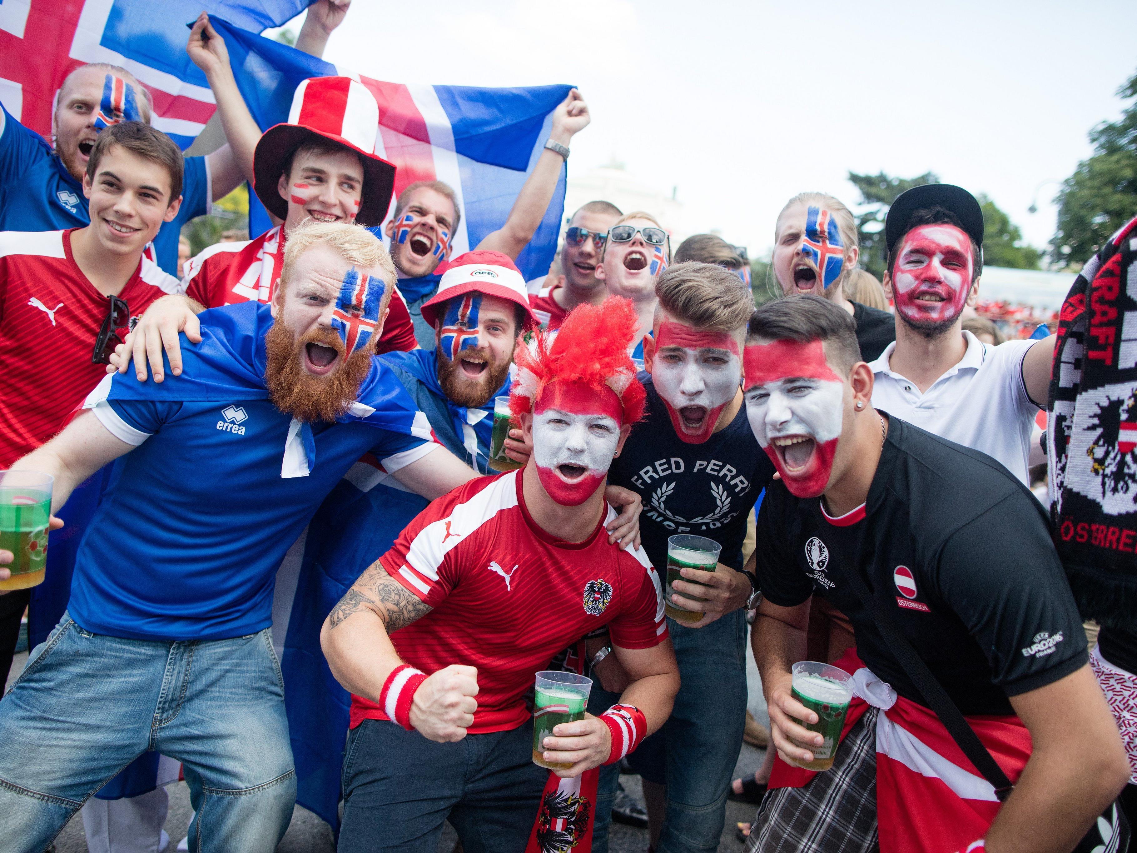 Wir zeigen euch die ausgeflipptesten Fans der Euro 2016.