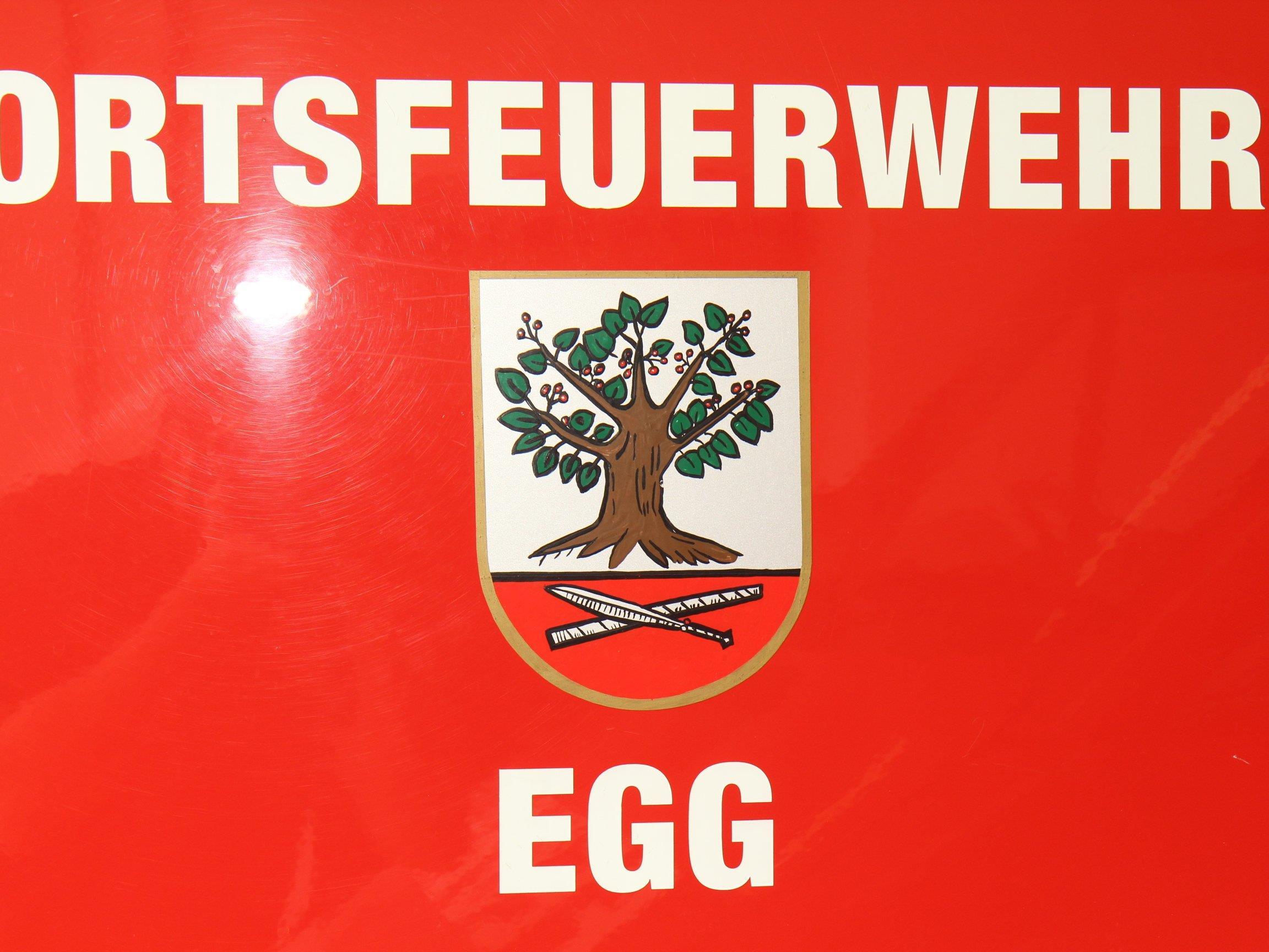 Die Feuerwehren Egg und Großdorf mussten aufgrund der starken Regenfälle ausrücken.