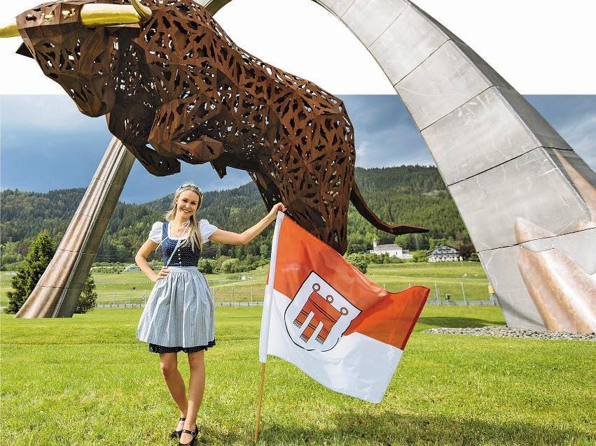 Am 3. Juli gastiert die Formel 1 in Spielberg – mittendrin Angelina aus Mellau.