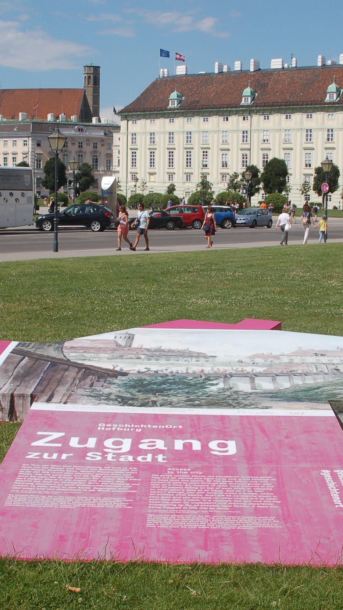 Eine Freiluft-Ausstellung startet am Donnerstag am Hofburg-Areal