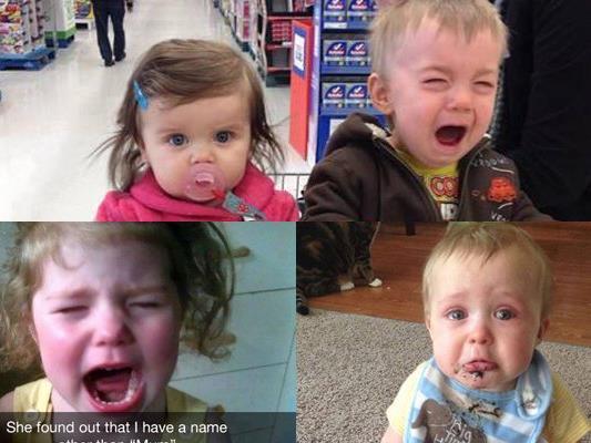 Es gibt viele Gründe, warum Kinder weinen...