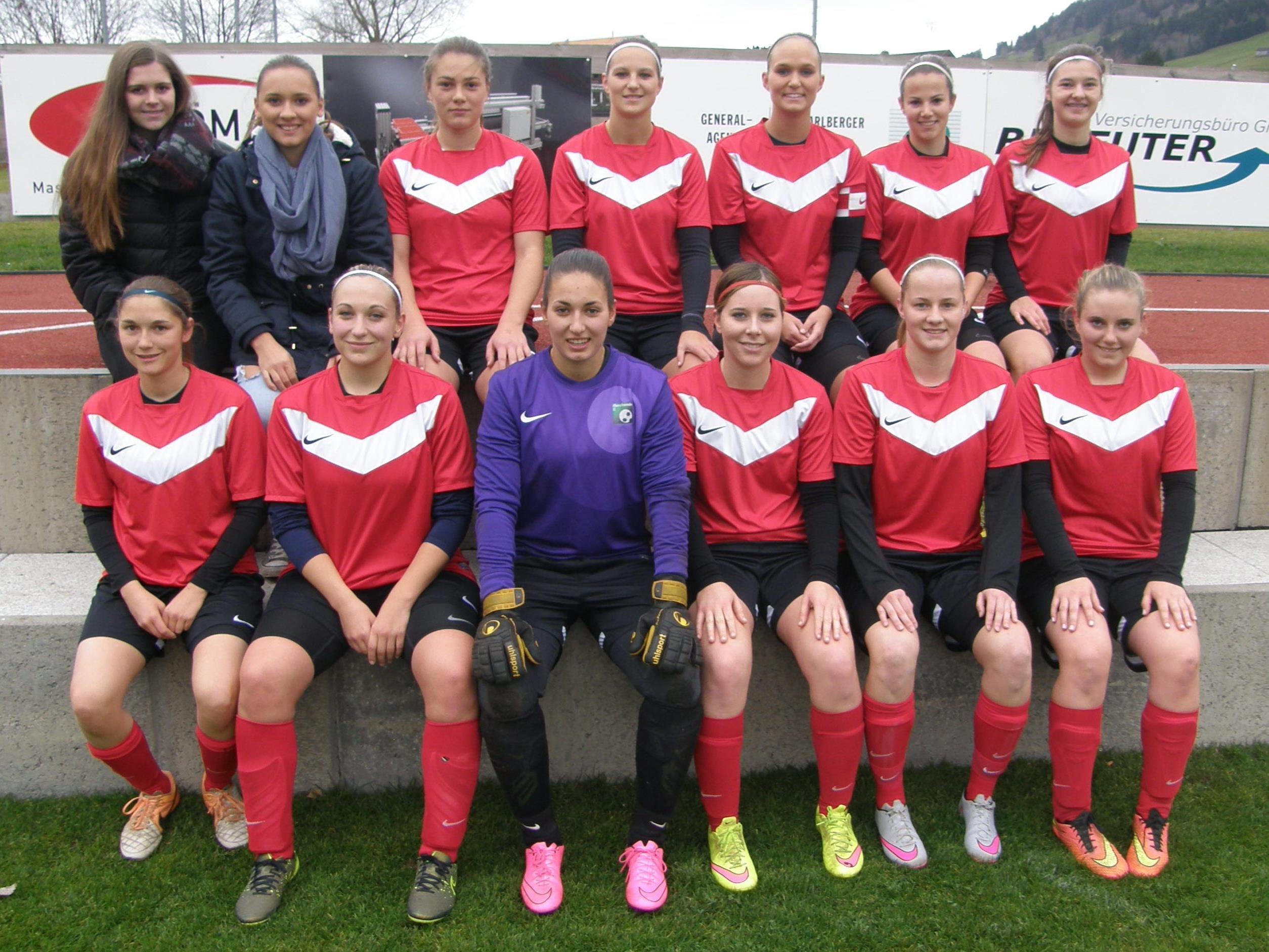 Das Damenteam vom FC Alberschwende ist erneut Meister in der Vorarlbergliga.