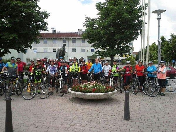 PVÖ-Inntalradtour mit großem Wetterglück