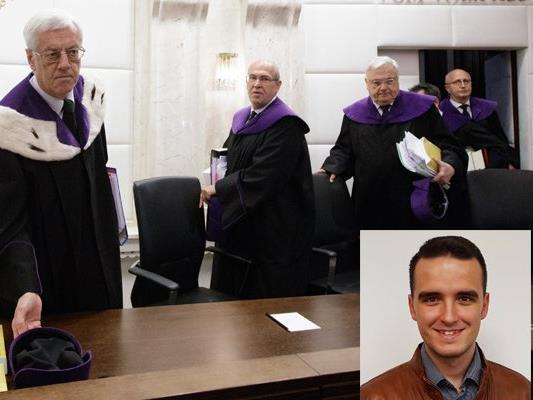 Der Dornbirner Sandro Tirler war am Montag bei der Verhandlung zur Stichwahlanfechtung dabei.