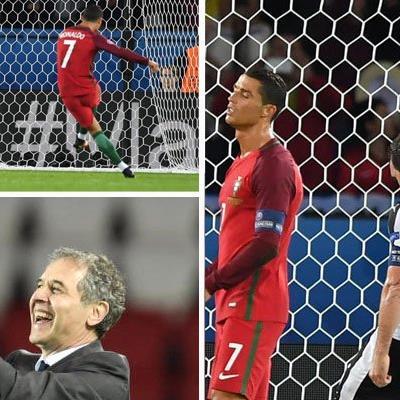 Almer brachte Ronaldo zur Verweiflung