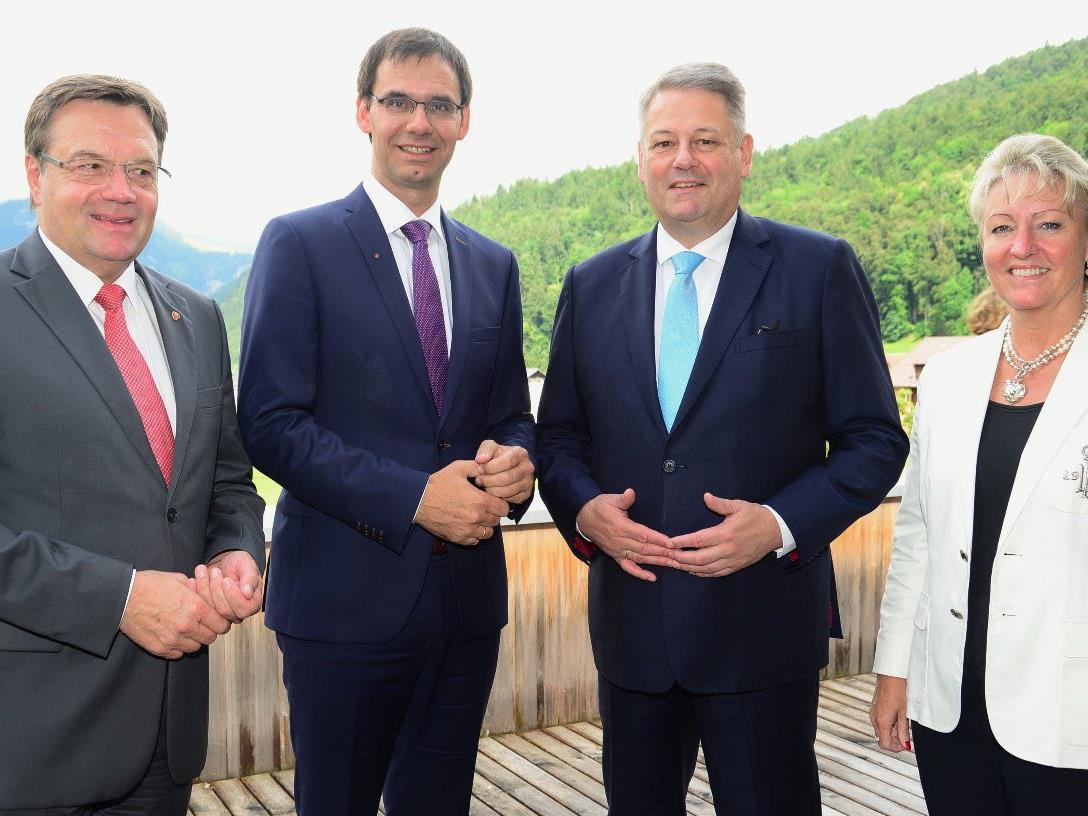 Regierungschefkonferenz der Arbeitsgemeinschaft der Alpenländer (Arge Alp)