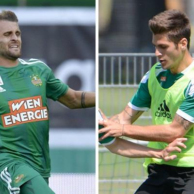 Philipp Huspek und Michael Schimpelsberger sind nun Ex-Rapidler.