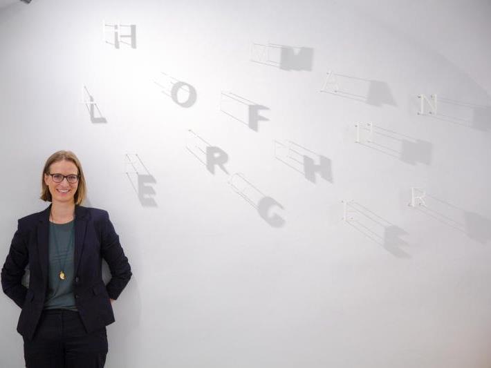 Jung und erfolgreich: Seit April ist Eva-Maria Hofmann selbstständige Anwältin und Unternehmerin.