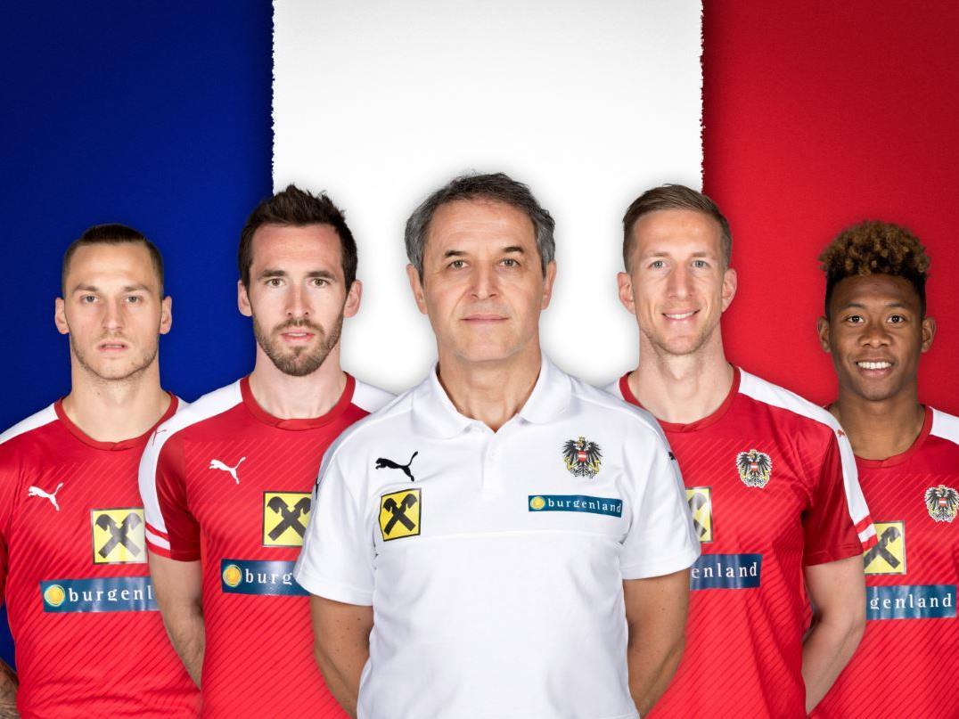 Alle Österreich-Spiele gibt's bei uns natürlich live.