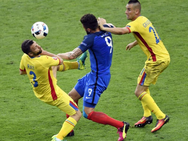 Giroud erzielte den ersten Treffer der EM
