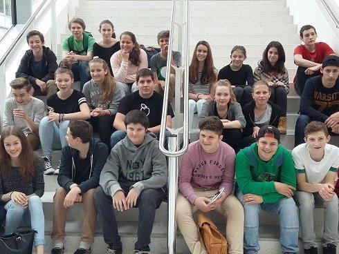 Die Projektschüler der FMS Altach