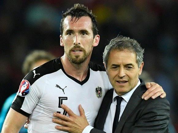 Kapitän Christian Fuchs gab seinen Rücktritt aus Österreichs Nationalteam bekannt.