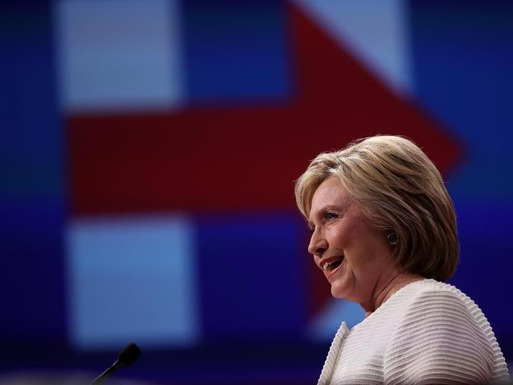 Clinton gegen Trump lautet das Duell um die US-Präsidentschaft