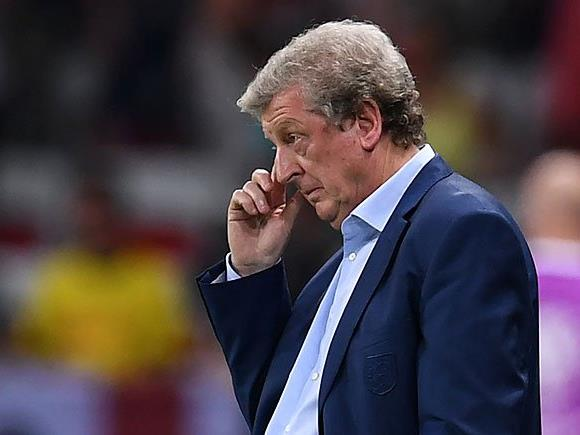 Große Ernüchterung nach dem Spiel bei Englands Coach Roy Hodgson