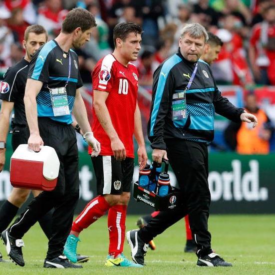 Junuzovic musste verletzt ausgewechselt werden