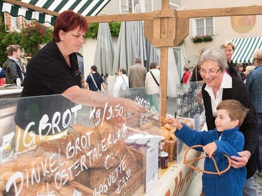 Am Samstag, 11. Juni, findet der Brot & Strudelmarkt in der Altstadt statt.