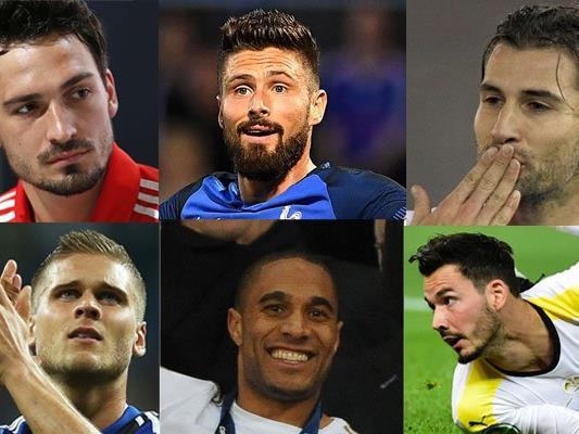 Eine Auswahl der Schnitten bei der EURO 2016.