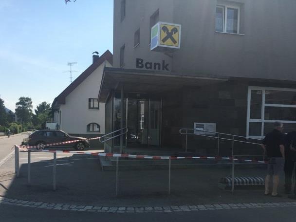 Raiffeisenbank in Herrenried wurde überfallen