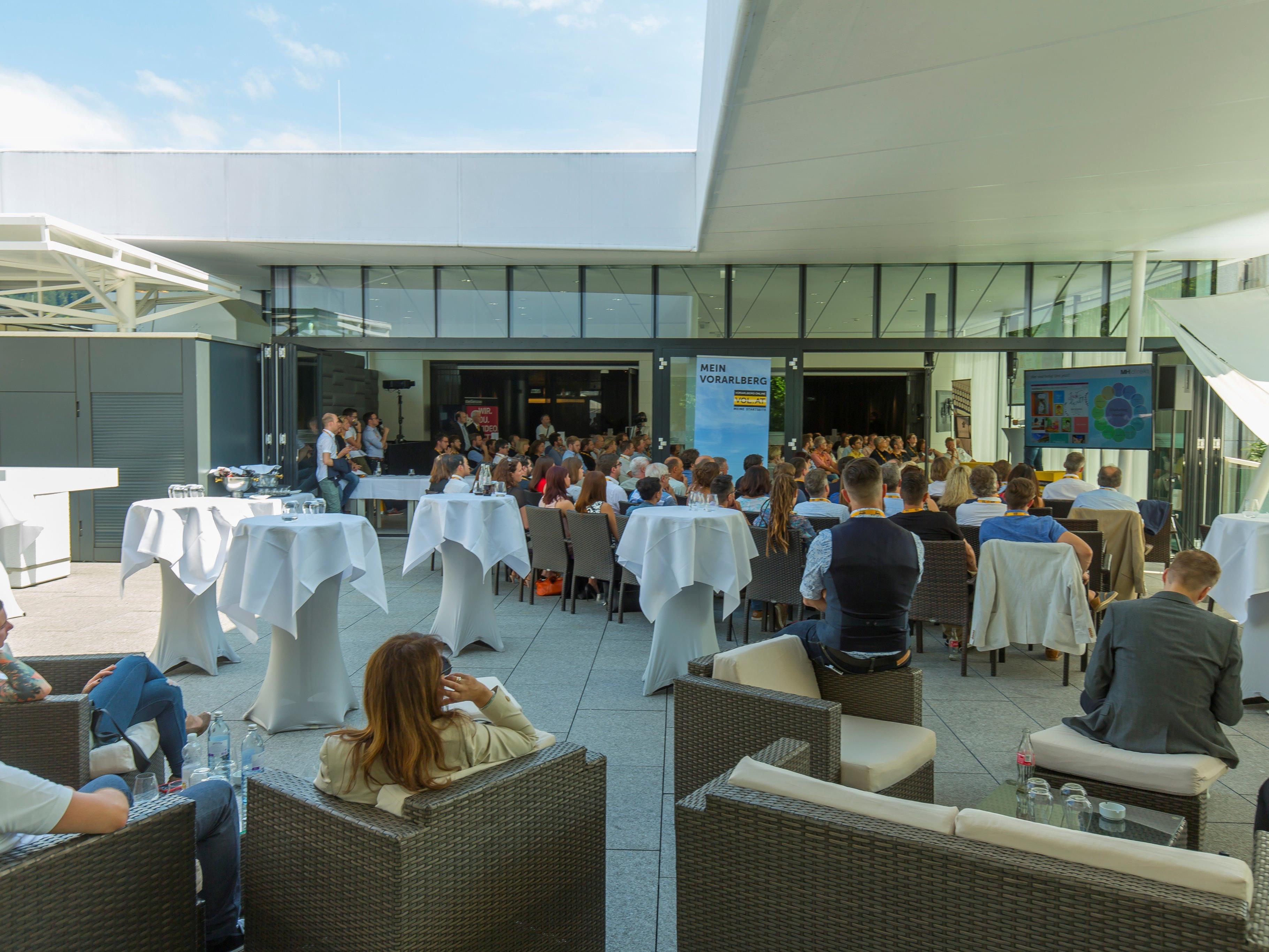 Gastgeber des vierten VOL.AT-Forum war das Casino Bregenz.