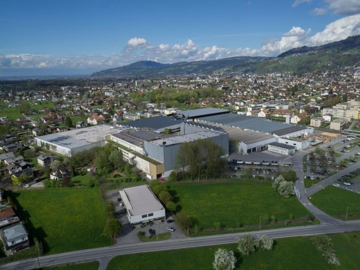 Zumtobel-Zentrale in Dornbirn