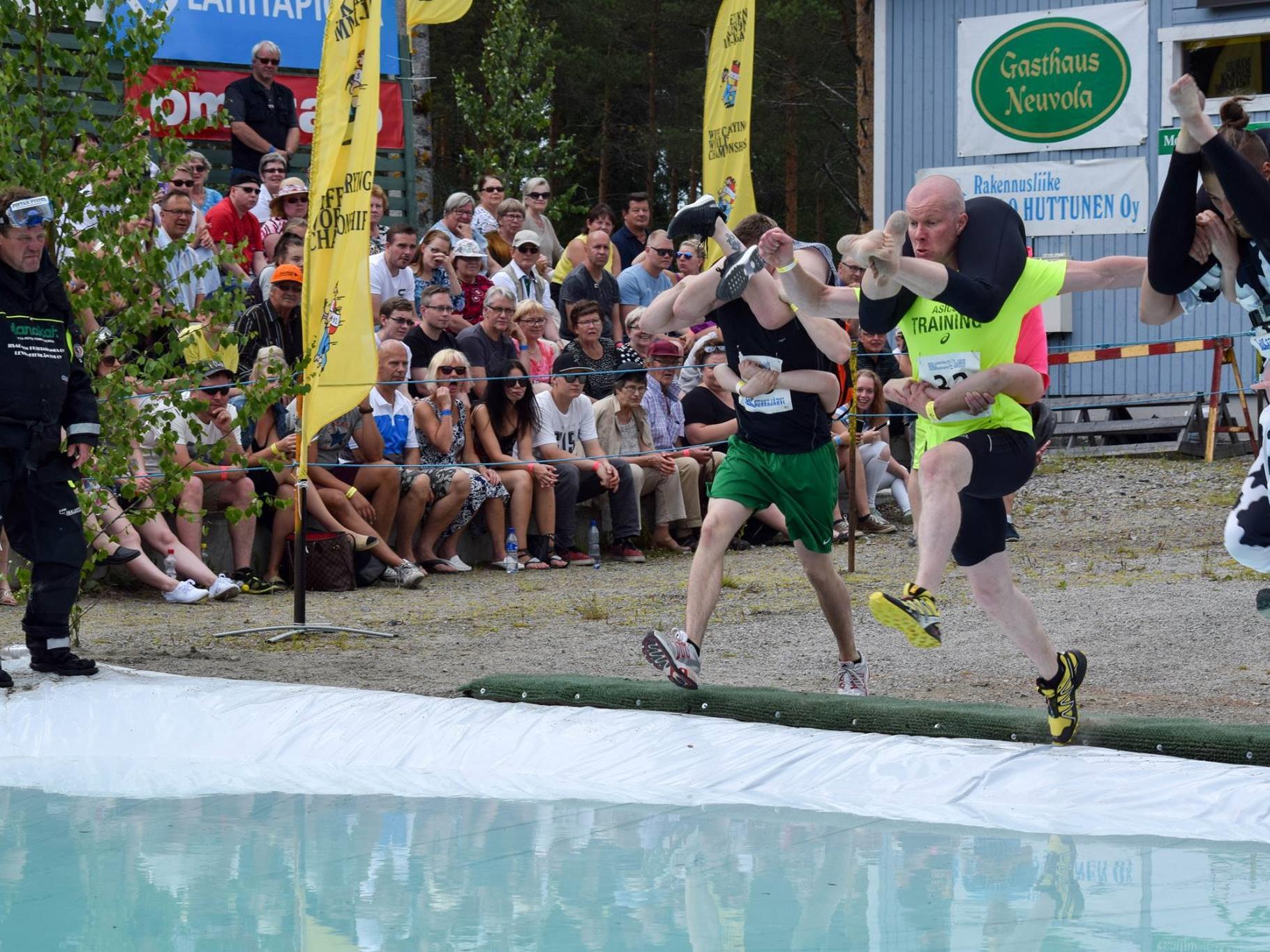 Kurioser Wettkampf in Finnland.