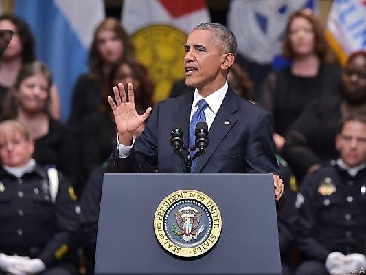 Obama hielt in Dallas eine emotionale Rede