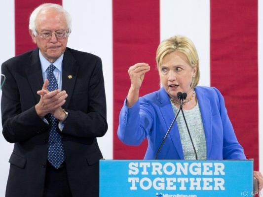 Clinton steuert weiterhin das Weiße Haus an