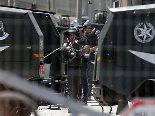 Israelische Sicherheitskräfte im Dauereinsatz