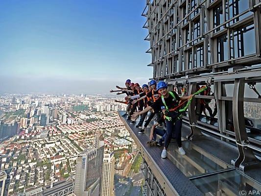 Für Menschen mit Höhenangst sicher kein Vergnügen