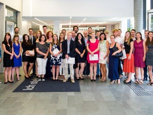 Berufsreifeprüfung: Maturavalet am BFI der AK Vorarlberg