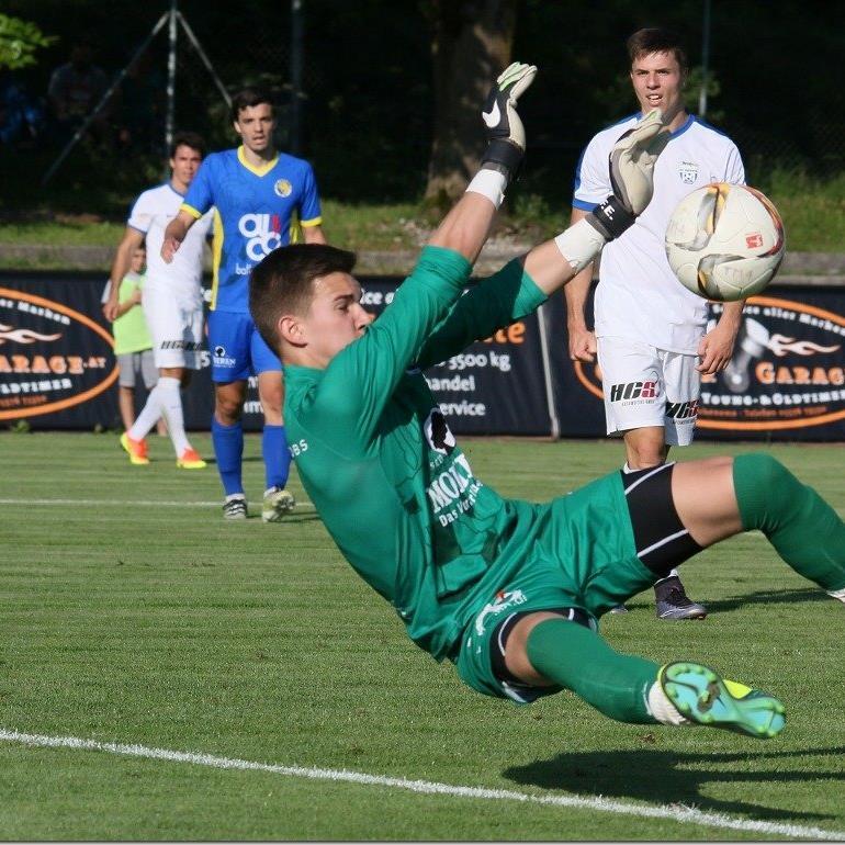Florian Eres konnte das 0:4 auch nicht verhindern