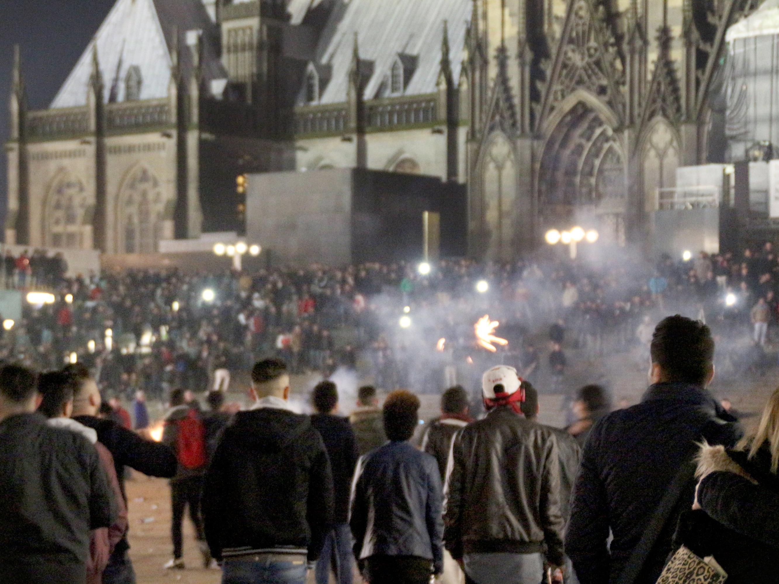 In der Silvesternacht gab es in Köln hunderte Übergriffe