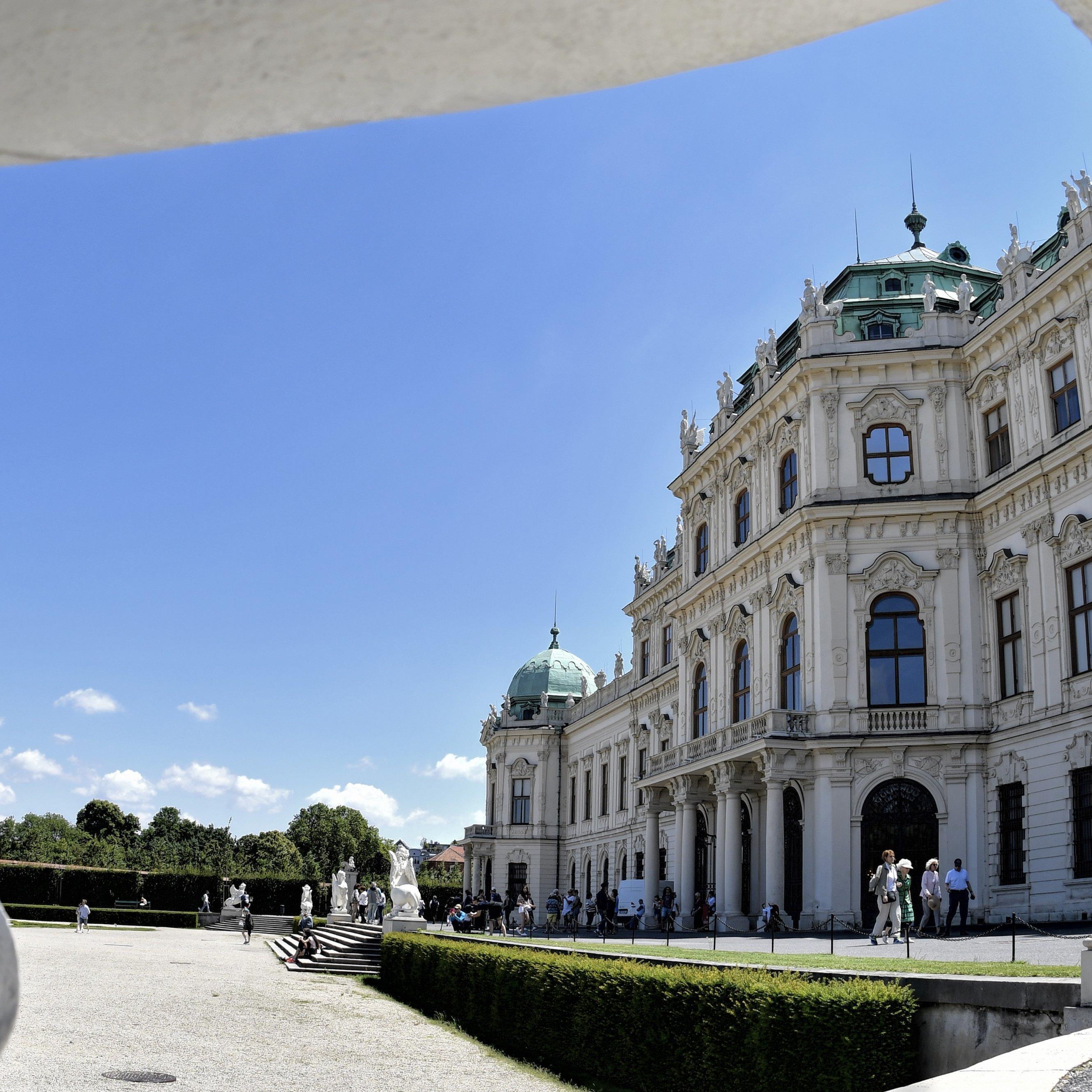 Das Belvedere in Wien.