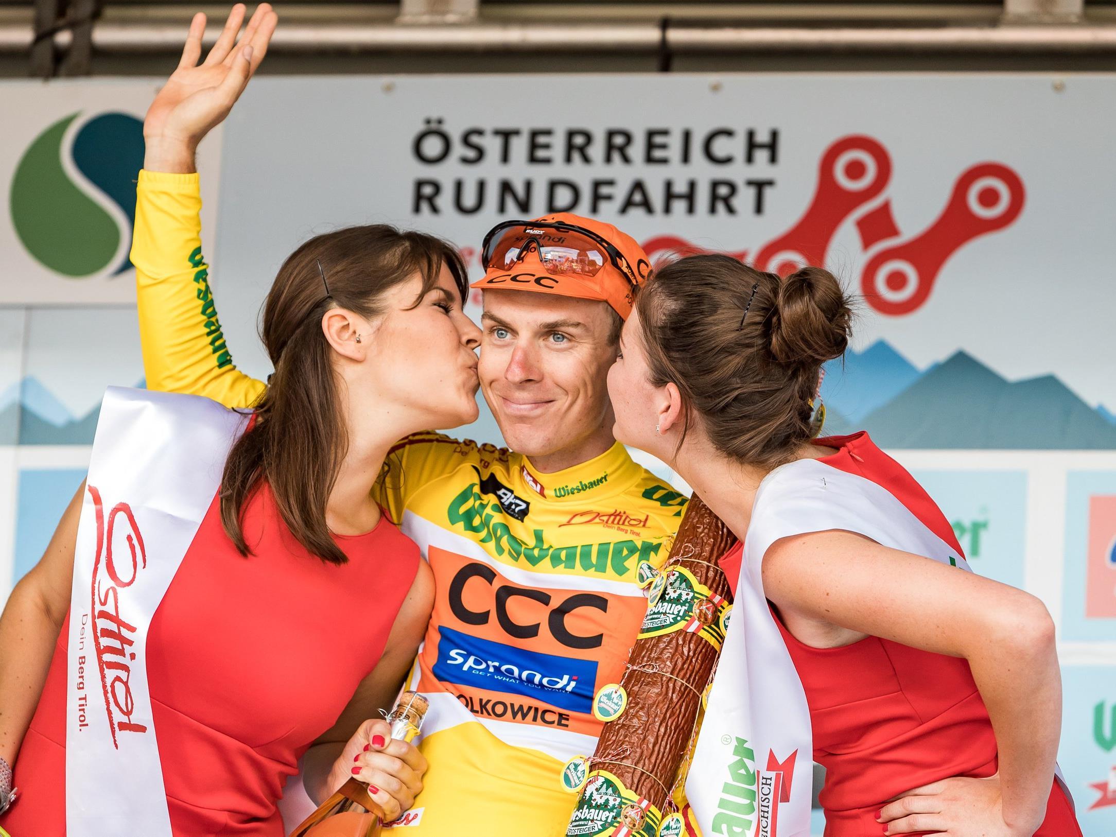 Der Tscheche Jan Hirt hat die Gesamtwertung der Österreich-Rundfahrt gewonnen.