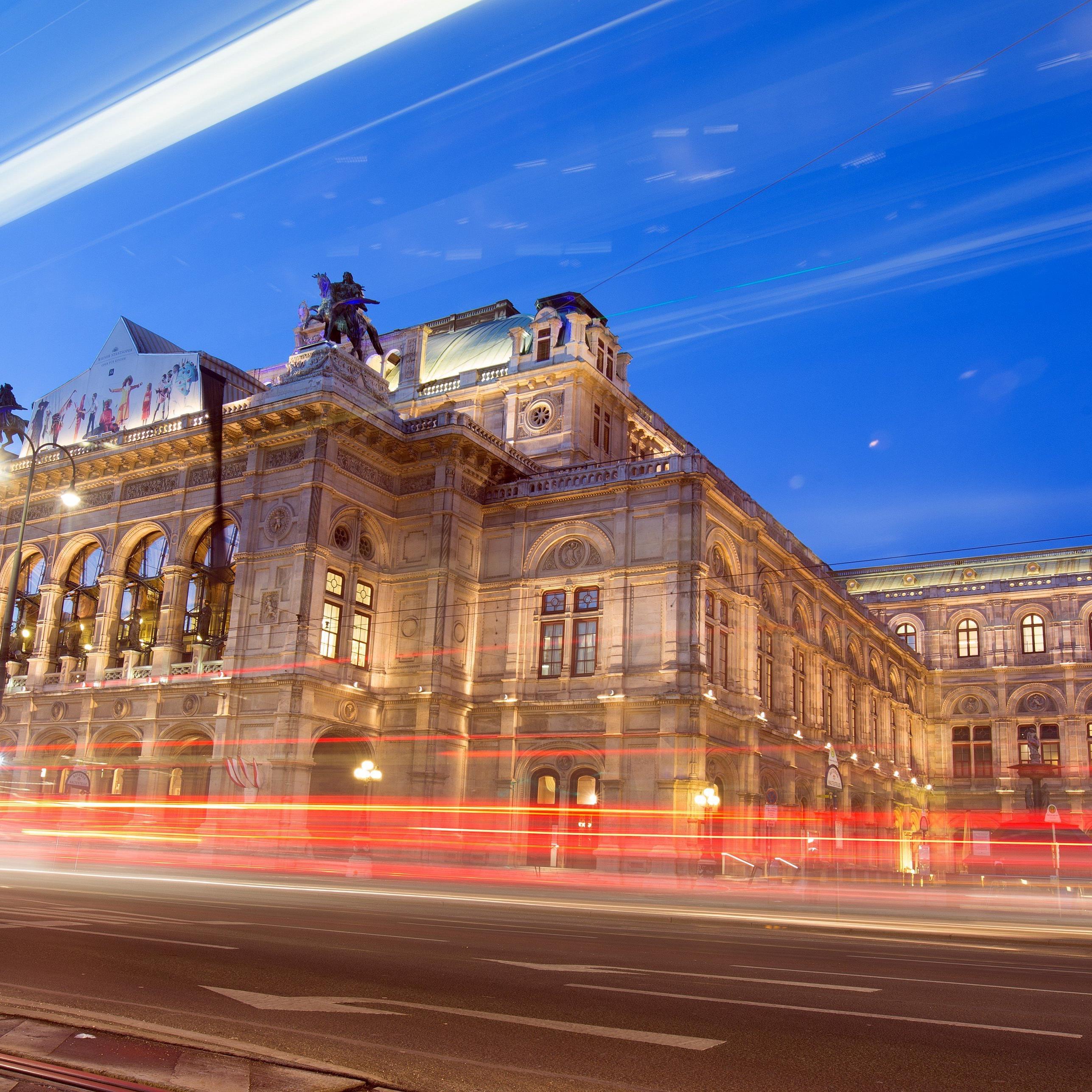Die Wiener Staatsoper.