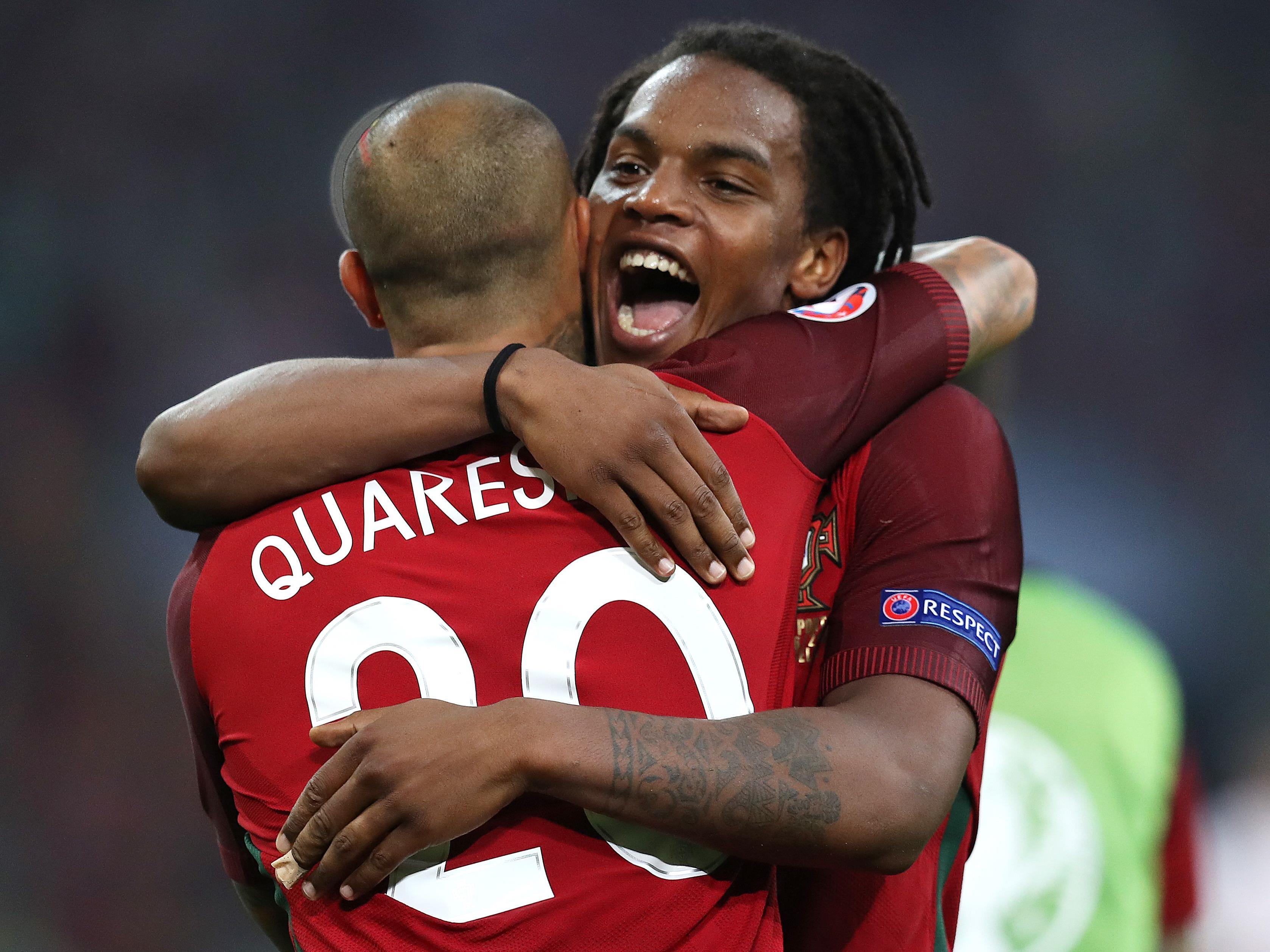 Renato Sanches schoss den wichtigen Treffer für Portugal