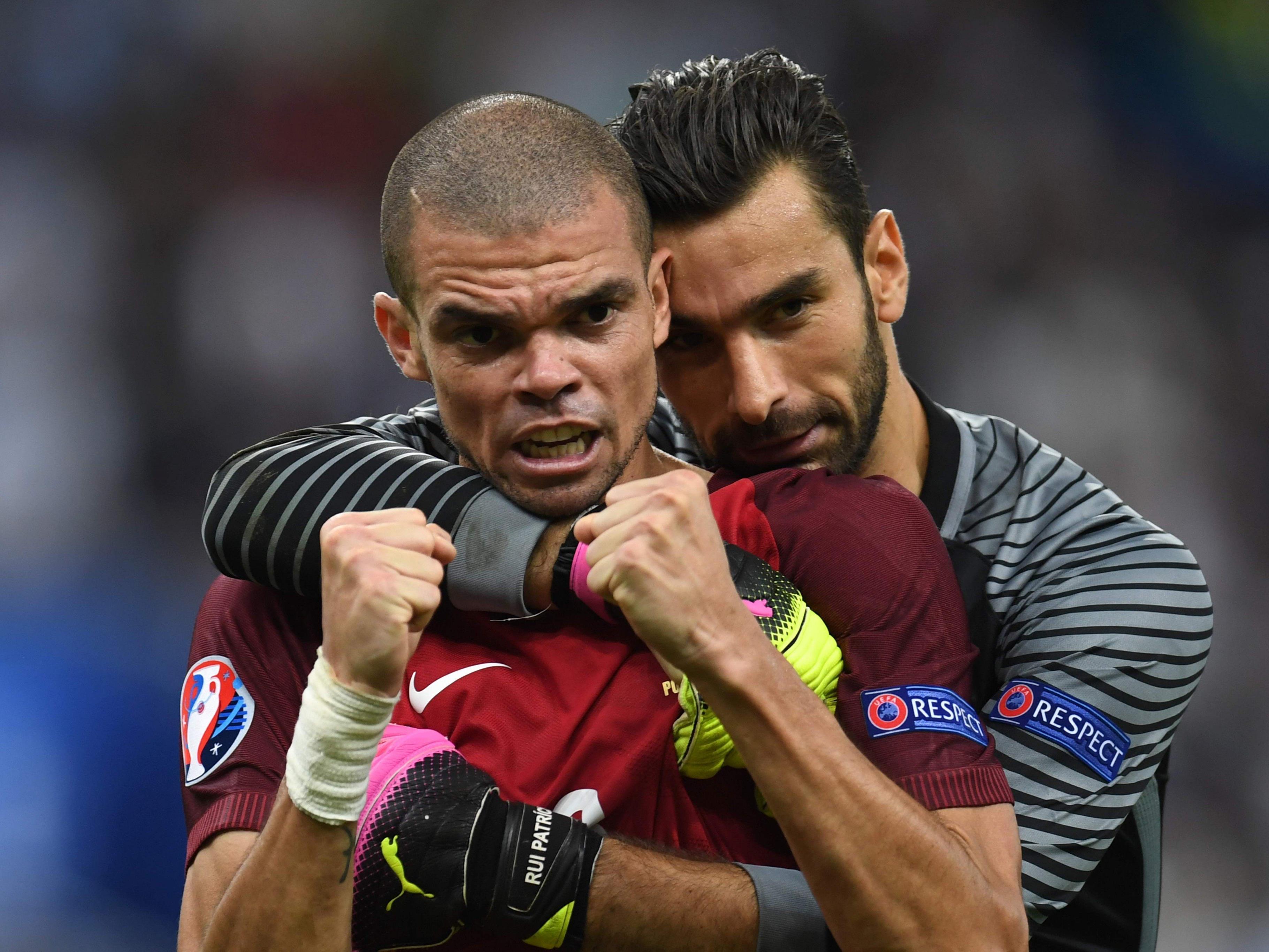 Portugal siegt mit 1:0 gegen Frankreich.