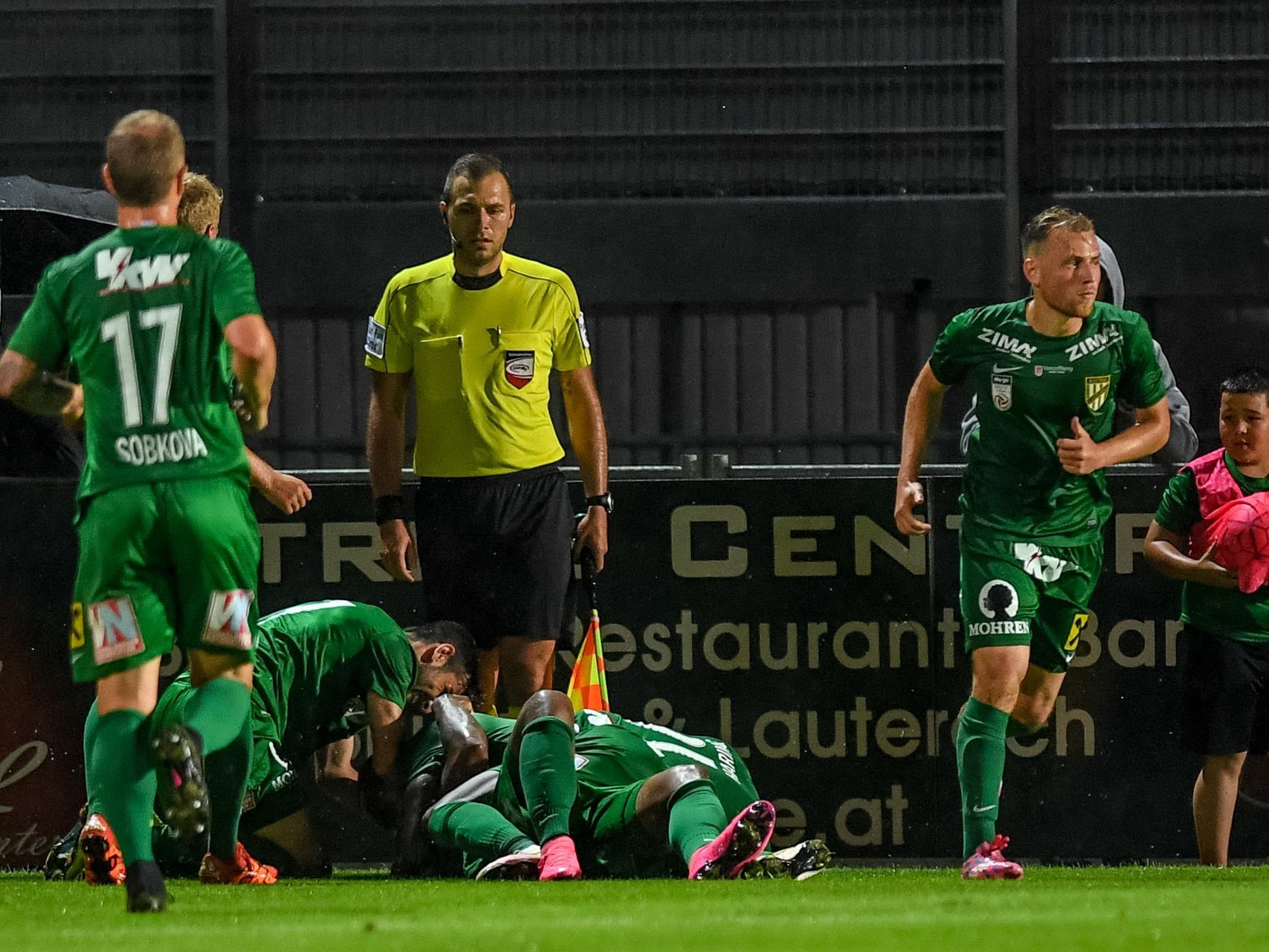 Die Austria schaffte zum Saisonstart gegen den LASK zuhause ein 1:1.