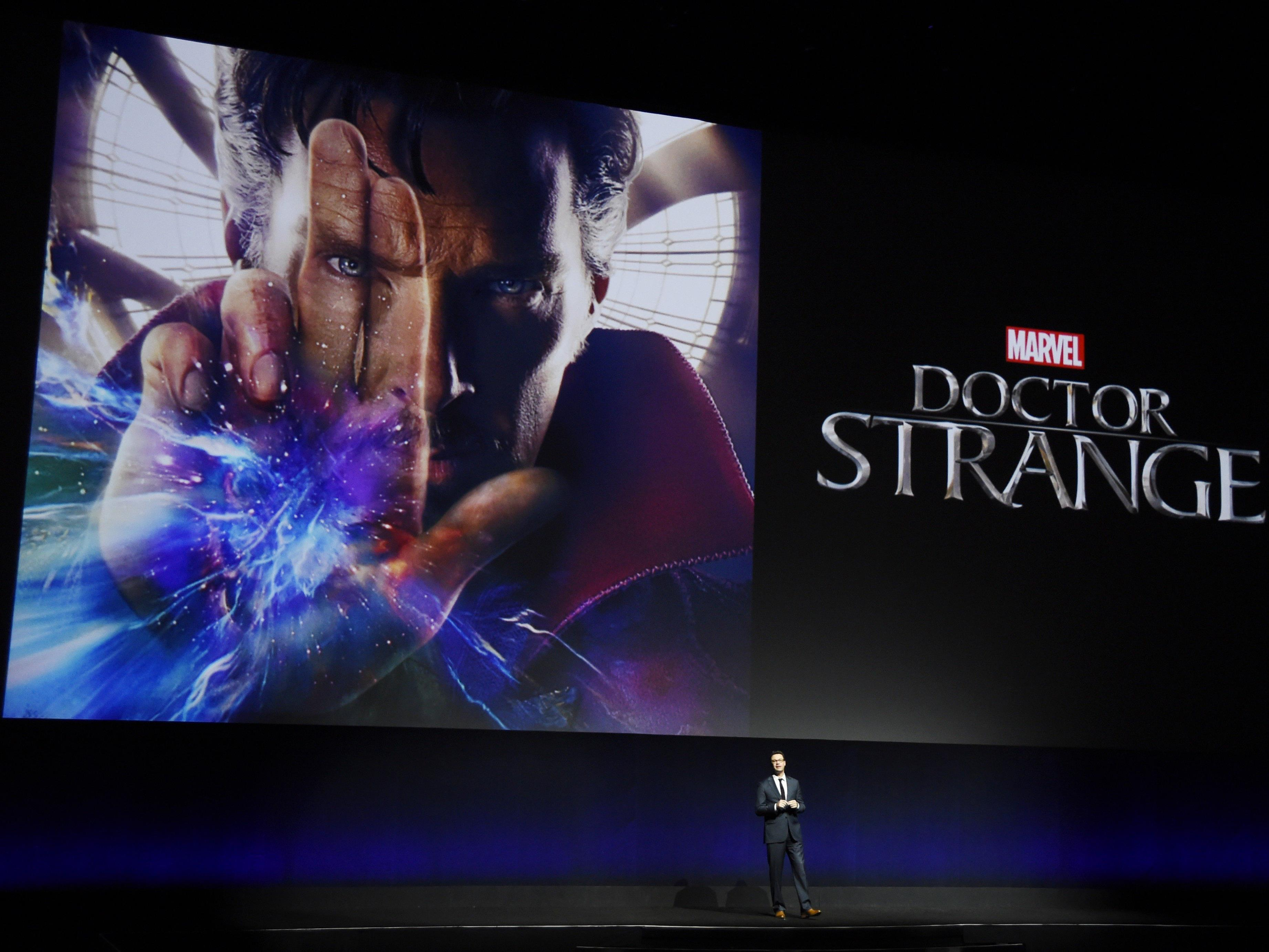 """Marvel bringt mit """"Doctor Strange"""" einen neuen Superhelden ins Kino."""